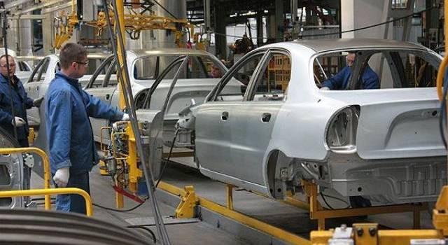 В Украине производство автомобилей показало 40-процентный спад