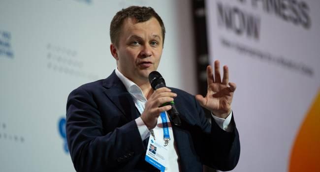 «Для этого в Украину должны зайти солидные иностранные инвестиции»: Милованов сомневается, что украинская валюта сможет укрепиться до 20 гривен за доллар