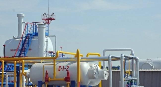 В украинских ПХГ запасы газа сократились до 19 миллиардов кубометров
