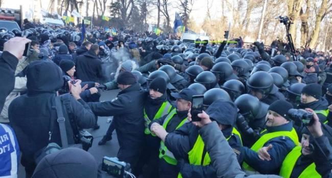 Костюк: вчера мы увидели «шоу» от прокремлевских «Нацдружин», задача которого дискредитировать протесты в принципе