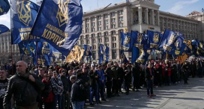 «Действуют в лучших традициях Януковича»: Нацкорпус Билецкого заявил, что Зеленский и Богдан переступили через «красную линию»