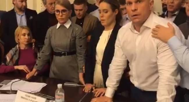 «Да я вас всех здесь на куски…»: Кива набросился с кулаками на депутатов в Верховной Раде, произошла грандиозная драка
