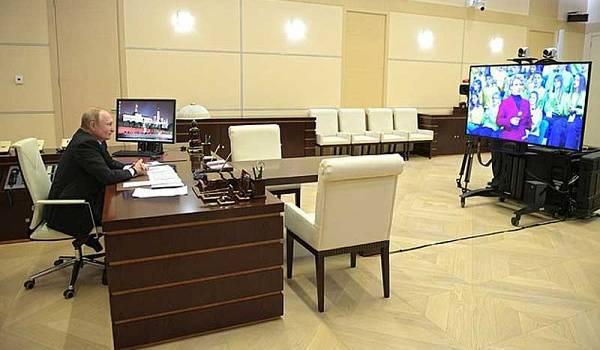 Глава РФ Путин оказался фанатом прошлого: Путина засекли на использовании устаревшей версии Windows XP