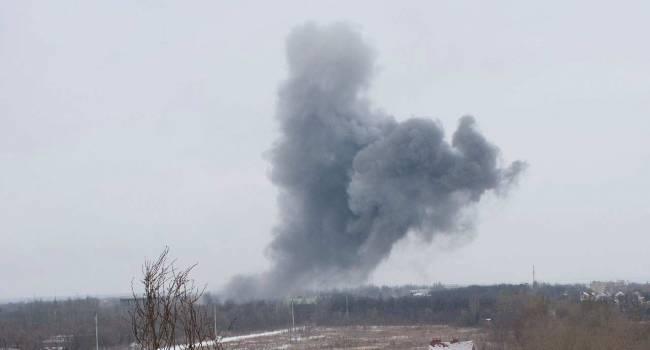 «Город буквально взлетел на воздух»: Донецк сотряс небывалой силы взрыв