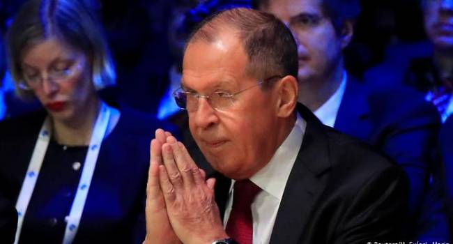 Лавров «в ужасе» от предложений Украины по разведению войск на Донбассе