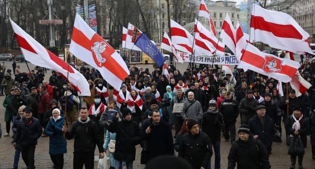 В Минске прошел новый митинг против интеграции с Россией — Replyua.net