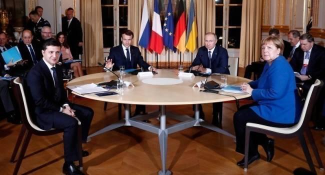 Путин окончательно «похоронил» «Нормандский формат» – больше лидерам глав государств встречаться нет смысла, – социолог