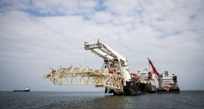 «Без рук, и без ног»: Allseas прекратила строительство «Северного потока - 2», и вывела все корабли из Балтийского моря