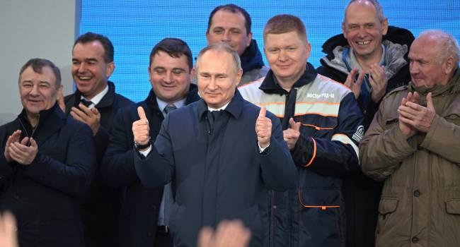 «Улитки - наше все»: Путин придумал, как решить вопросы демографии
