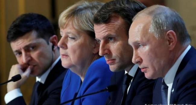Виталий Бала: Путин приехал на встречу в Париж только с одной целью – не мир на Донбассе, а газ – в Европу