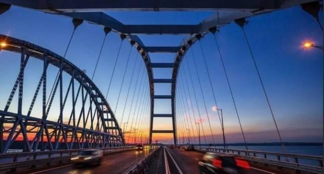 «Очень показательная история»: журналист объяснил, почему в Украине никогда не построят Крымский мост