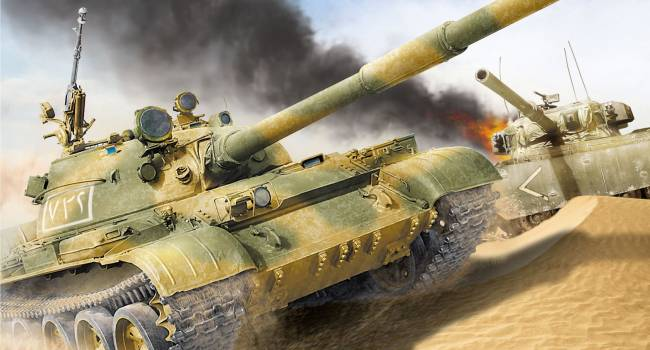 Ракета США в Сирии подбила танк союзников Путина
