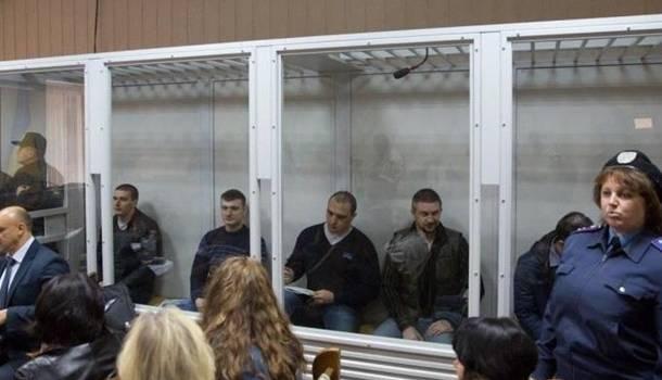 Бывшие сотрудники «Беркута» уже прибыли для обмена пленными