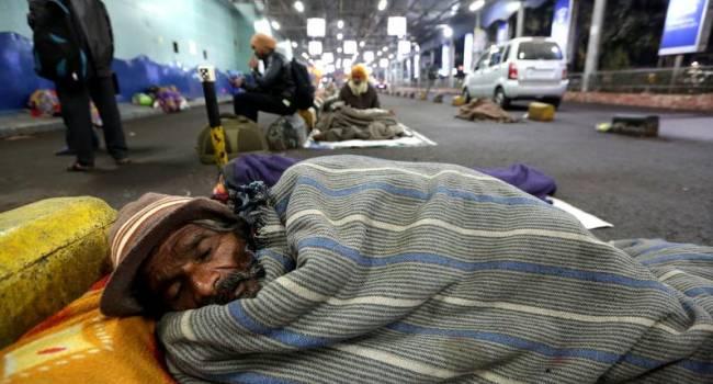 Жертвами аномальных холодов в Индии стали почти 30 человек