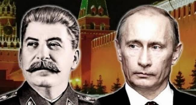 Схема «За Родину, за Сталина» до сих пор работает в России, только «отца всех народов» заменил Путин - Курков