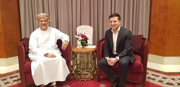 В Омане Зеленский и Ермак провели встречу с главой резервного фонда