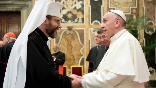 В УГКЦ сподіваються, що Зеленський запросить Папу Римського до України