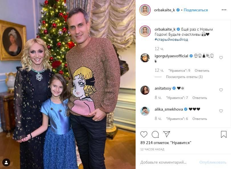 «Клавдия копия папа»: Кристина Орбакайте развеяла все слухи о своем расставании с мужем, поделившись семейным фото
