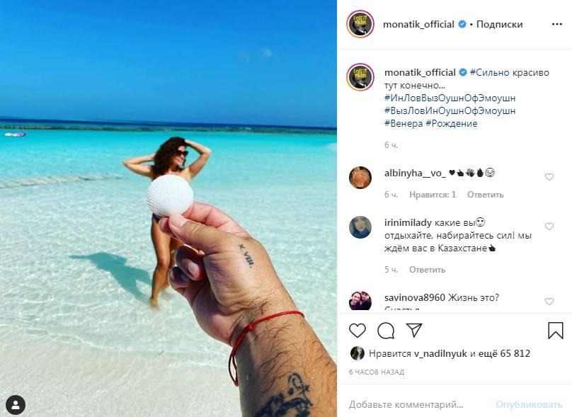 «Венера»: Дима Монатик опубликовал обнаженное фото своей жены