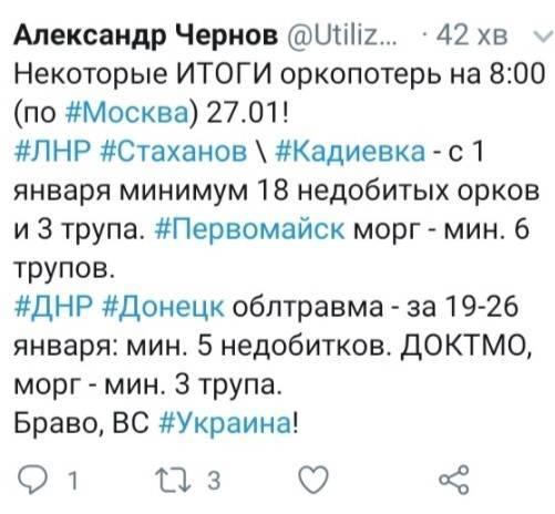 Гібридна армія РФ пішла в наступ на ЗСУ та втратила більше 30 «орків» – блогер