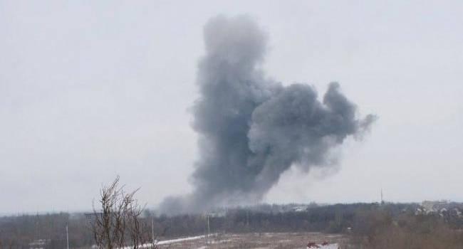 На Новий рік Донецьк «палав вогнем» від обстрілів