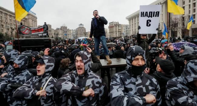 Прозапас: «националисты», которым так мешал «барыга» Порошенко, оказались неспособными реагировать на выкрутасы «народной власти»