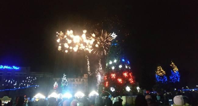 «Слава Украине»: Крым и ОРДЛО праздновали Новый год по украинскому времени – СМИ