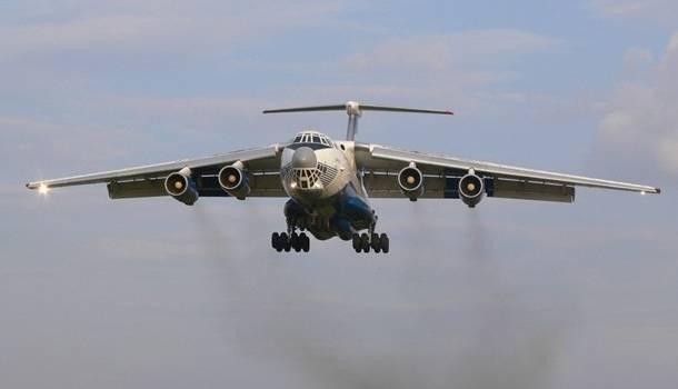 В Карпатах провели испытание военного самолета Ил-76МД