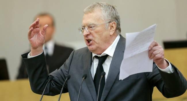 Жириновський анонсував втрату нових територій Україною