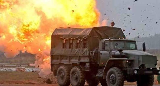 «Летальные потери на Донбассе»: Наемники РФ подорвали автомобиль сил ООС с бойцами ВСУ