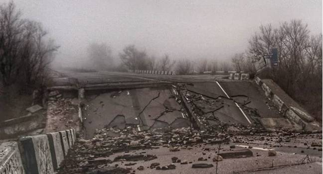 Від Донецьку лишилась тільки назва: Соцмережі показали місто «після ядерного вибуху»