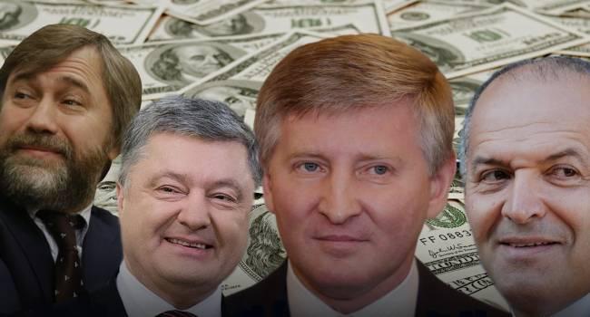 «Богат – не хвались, беден – не отчаивайся»: Подведены итоги достижений самыми богатыми людьми Украины