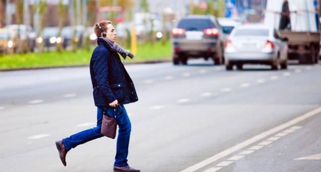 Кабинет министров предлагает существенно увеличить штрафы для пешеходов, нарушающих правила дорожного движения