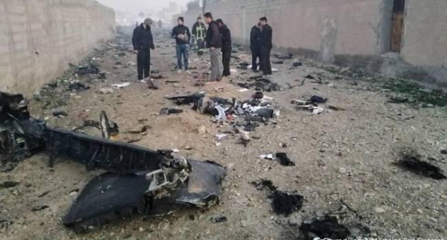 Самописці літака МАУ, збитого в Ірані, ймовірно попадуть до Росії