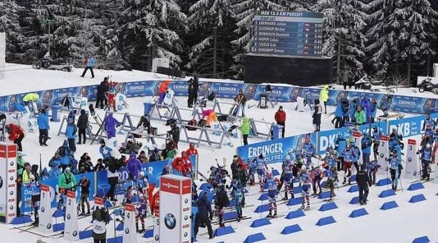 Когда смотреть биатлон: расписание гонок четвертого этапа Кубка мира в Оберхофе