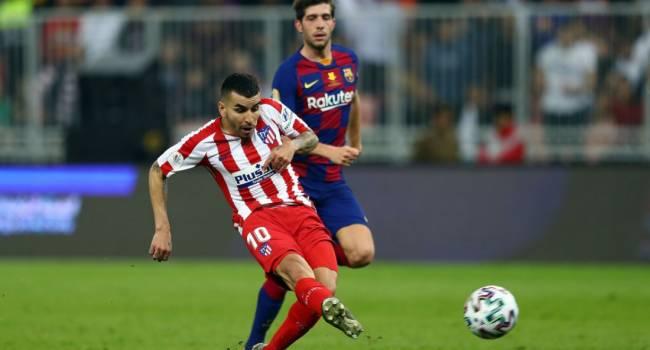 «Атлетико» в драматичном матче вырывает победу у «Барселоны», и выходит в финал Суперкубка Испании