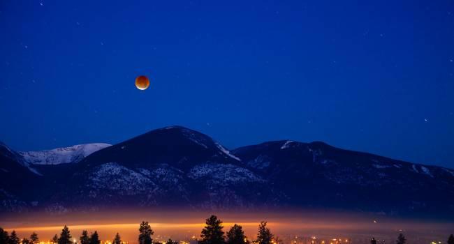 Уже сегодня: в ночь на 11 января можно будет понаблюдать за лунным затмением