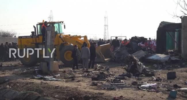 Иран тщательно скрывает истинную причину падения самолета МАУ – члены комиссии из Украины