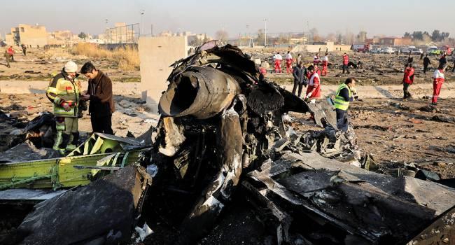 «Наконец-то нашли виноватого»: Иран признал свою вину в крушении украинского самолета