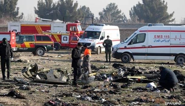 Иранские власти сообщили, когда узнали о том, что самолет МАУ сбили