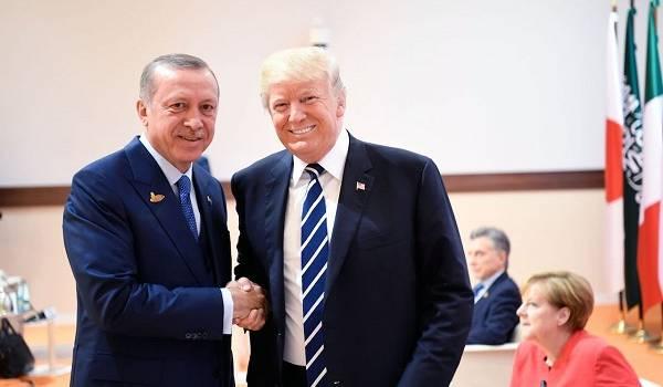 Трамп и Эрдоган обсудили катастрофу самолета МАУ в Иране