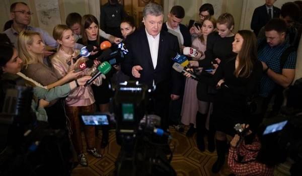 «Интересы России и олигарха Коломойского»: Порошенко заступился за Гончарука в скандале с записями