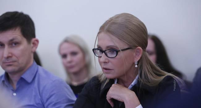 «Пусть они возвращаются в свой бизнес, в свои «95-е кварталы» и не отравляют жизнь Украины», - Тимошенко о правительстве Зеленского и Ко