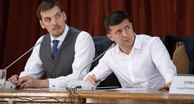 «Зеленский рискует потерять свой авторитет»: Пальчевский рекомендует президенту отправить Гончарука в отставку