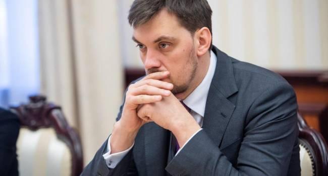 «Гончарук поднимает ставки»: Якубин допускает, что глава правительства может шантажировать президента