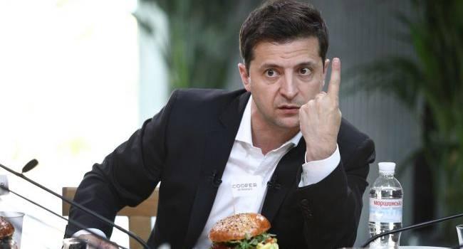 Блогер рассказал, почему Зеленский вне себя от услышанного на «пленках Гончарука»
