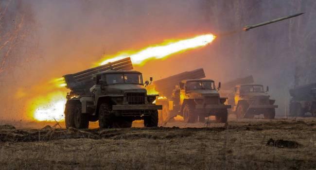 «Тактика выжженной земли»: Россия стянула на линию фронту 22 единицы РСЗО «Град»