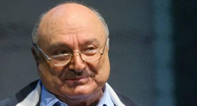 «Сижу вот в ресторане»: Жванецкий отреагировал на свое «очень тяжелое состояние»