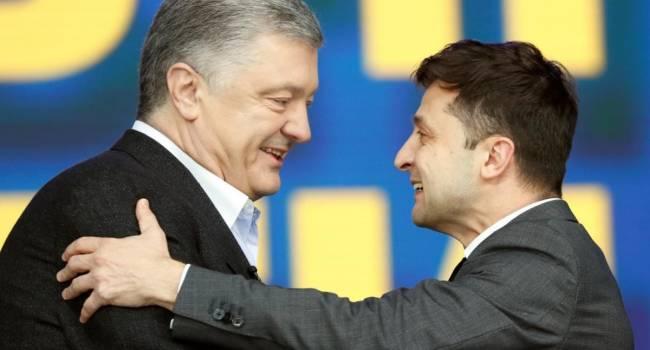 Порошенко был главным агитатором за Зеленского, и если бы не пятый президент, нынешний гарант и дальше играл бы в «Вечернем квартале» - мнение