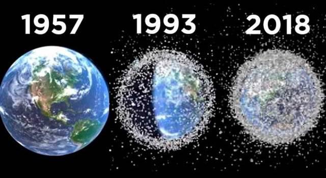 «Нескольких тонн отходов» Спутник произведённый КНР сбросил опасный груз в космос